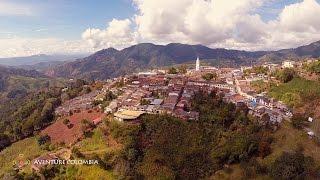 Viajar Eje Cafetero Colombia - Santuario Parque Nacional Natural Tatamá desde el Aire