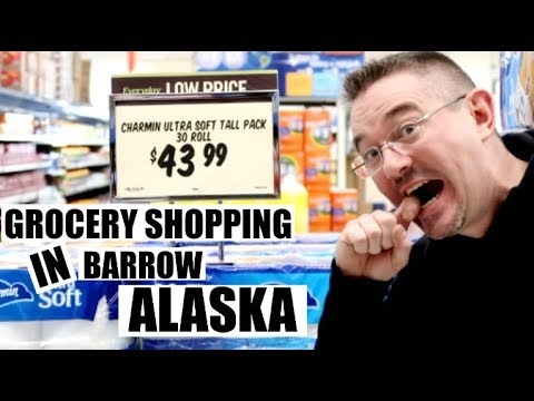 Download GROCERY SHOPPING IN FARTHEST NORTH CITY IN AMERICA  BARROW (UTQIAGVIK) ALASKA   Somers In Alaska
