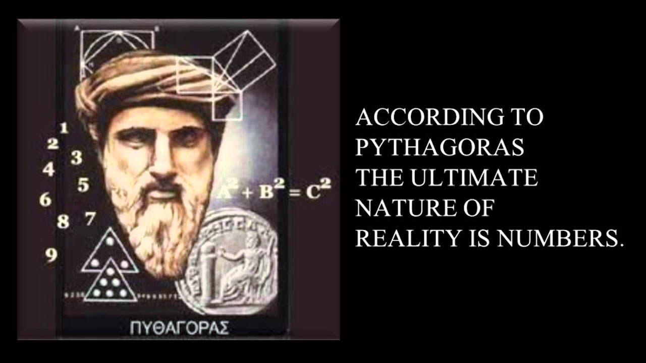 Ultimate Reality According to Pythagoras - YouTube