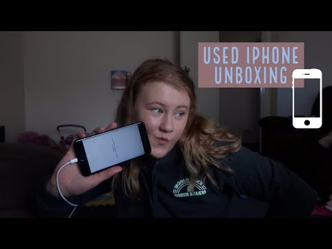 BLACK IPHONE 7 PLUS UNBOXING (bought Used From Ebay!!)