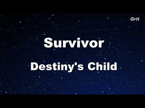 Survivor - Destiny's Child Karaoke【Guide Melody】