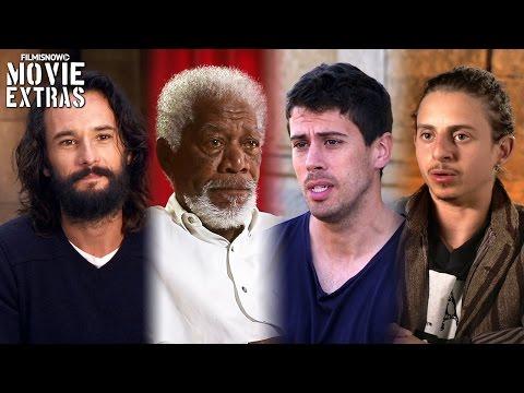Ben-Hur | On-set with Rodrigo Santoro, Morgan Freman, Toby Kebbell & Moises Arias [Interview]
