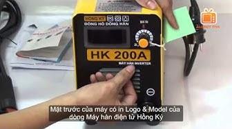 Máy hàn điện tử HỒNG KÝ HK-200A-PK - MMA inverter DC Welding Machine
