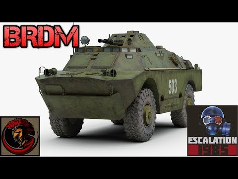 Soviet BRDM Series Scout Cars | ESCALATION 1985 GAME NEWS!