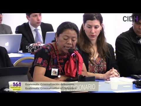 Guatemala: Criminalización defensores