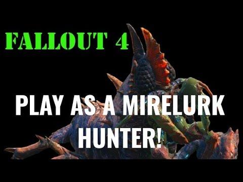 Fallout 4 - Playable Mirelurk Hunter MOD!