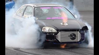 10 Second Honda Civic EK Fitted With A 632whp B18c Turbo Engine
