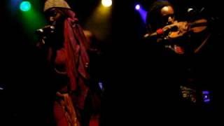 IMANI UZURI - AGAIN - Live @ Highline Ballroom - NYC 5/19/09