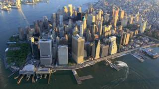 Amazing Aerial Photography of New York City at Dawn