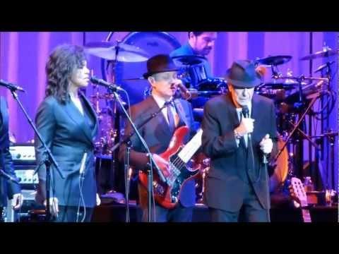 """Leonard Cohen """"Secret Life"""" 1st Bank Center, 11/3/12"""