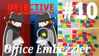 Find The Differences - The Detective Answers: Office Embezzler Level 1- 10