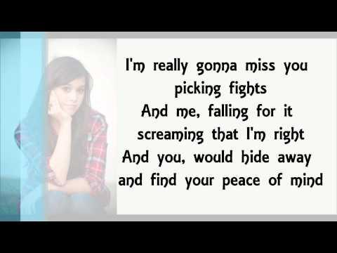 We Are Never Ever Getting Back Together- Megan Nicole lyrics