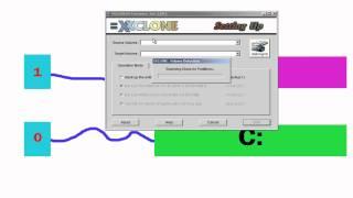 Copia el sistema operativo a otro disco duro. XXCLONE