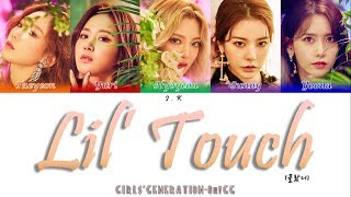 Girls' Generation-Oh!GG 소녀시대-Oh!GG '몰랐니 (Lil' Touch)' (Color Coded Lyrics) [HAN_ROM_ENG]