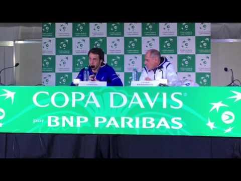 Paolo Lorenzi y Corrado Barazzutti
