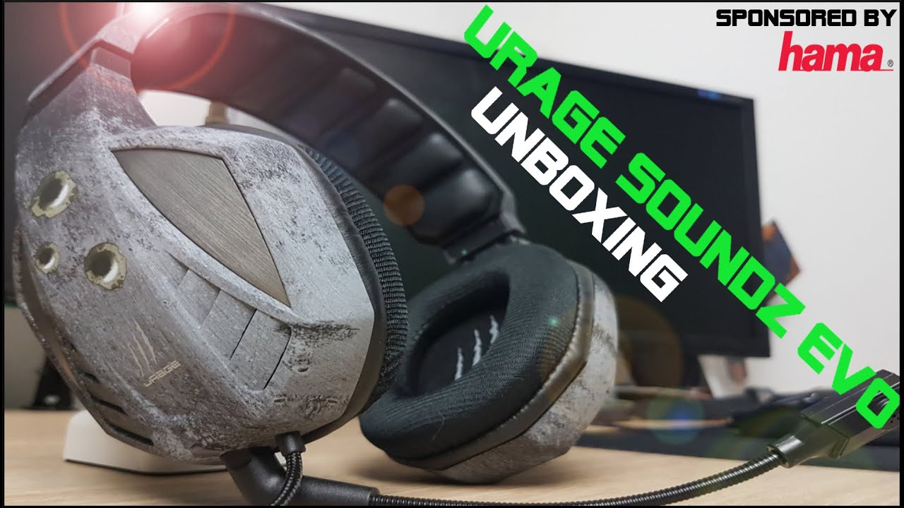 b428c440807 Hama Gaming Headset / uRage SoundZ Evo Unboxing [German / Deutsch ...