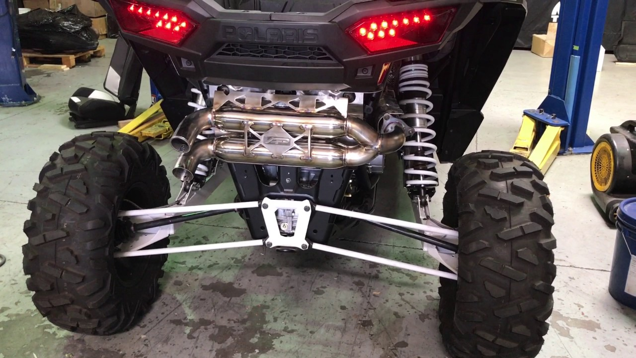 agency power dual tip exhaust system