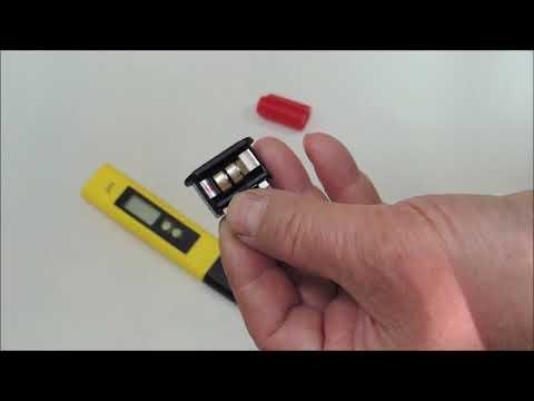 Как правильно заменить 💥 батарейки в PH-метре. Полярность установки.