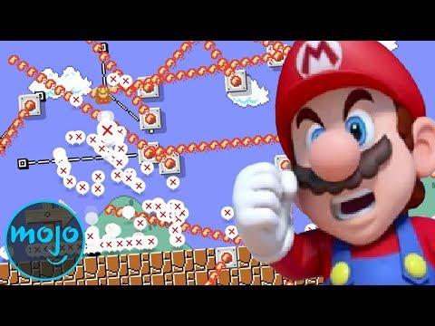 Top 10 Hard Super Mario Maker 2 Levels