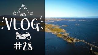 Uma RODOVIA no OCEANO ATLÂNTICO | Viagem ao mundo de moto | EVV VLOG #28