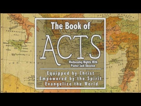 Acts 13:14-41 - Paul's Sermon from the Missionary Trail