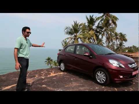 REVIEW! The most fuel-efficient diesel sedan in India - The Honda Amaze review!