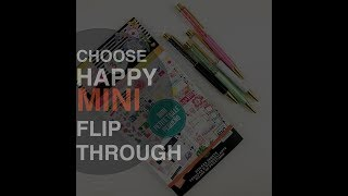Choose Happy Mini Happy Planner Stickers | Planning With Kristen