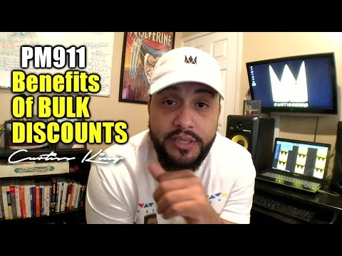 Producer Motivation 911 - The Benefits of Offering Bulk Discounts