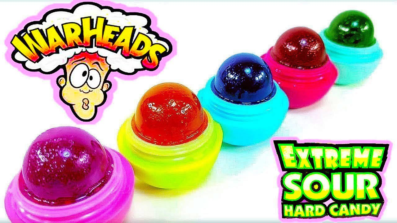 Diy Eos You Can Eat Warheads Extreme Sour Candy Treat Super Sour