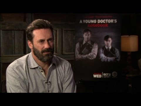 'Mad Men's' Jon Hamm discusses his role in 'A Young Doctor's Notebook'