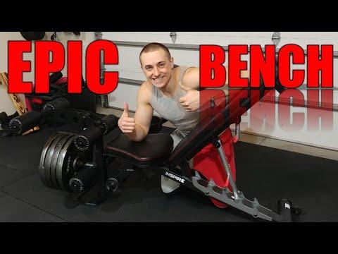 BEST HOME GYM WEIGHT BENCH - Inspire Fitness SCS FT2 Adjustable Weight Bench Garage Gym