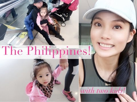 Traveling to the Philippines with Two Kids | Vlog 068 by Sunina Young
