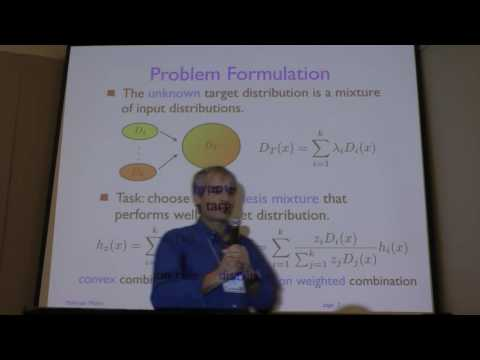 NIPS 2015 Workshop (Mohri) 15612 Transfer and Multi-Task Learning: Trends and New Perspectives