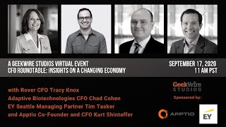 A GeekWire Studios Virtual Event | CFO Roundtable: Insights on a Changing Economy
