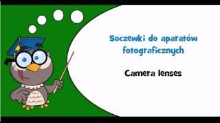 Discover Polish language #Thème = Photographic equipment