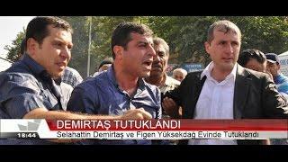 Selahattin Demirtaş'ın Evinde Tutuklanma Görüntüleri