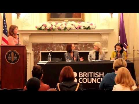 Panel: Sex Trafficking and International Law, presented by British Council and NYU Law