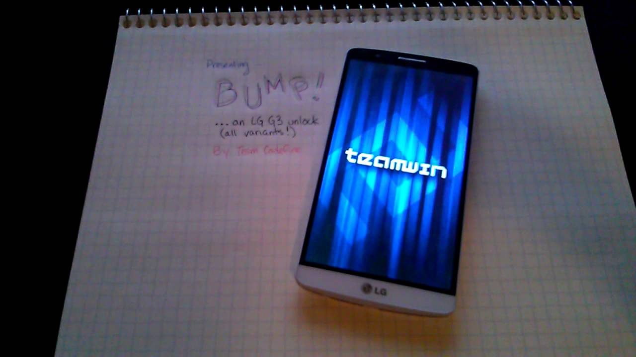 Bump! - Unlock your LG G3 with TWRP! (ATT) | AT&T LG G3
