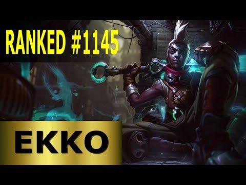 Ekko Jungle - Full League of Legends Gameplay [German] Lets Play LoL - Ranked #1145