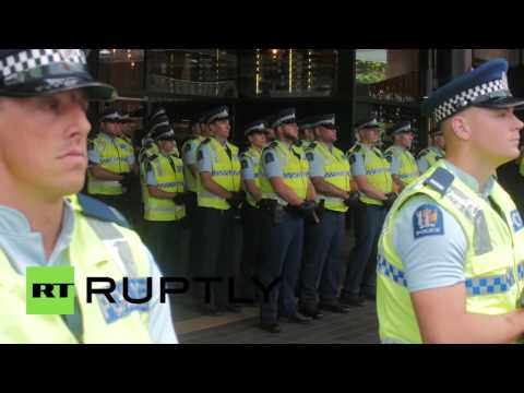 New Zealand: Thousands protest signing of TPP trade deal