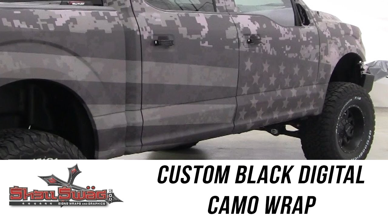 Freedom Ford Custom Digital Camo Wrap From Shellswag