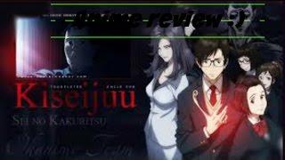 Anime Review on Kiseijuu Sei No Kakuritsu or in english  Parasite