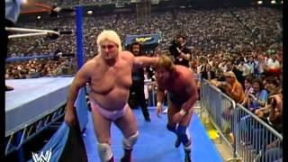 Gambar cover Roddy Piper vs Adrian Adonis - WM III (Pontiac Silverdome)