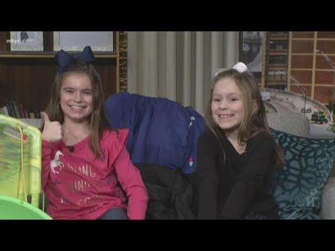 Sledding advice from kid experts: Meet Dave Chudowsky's daughters