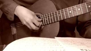 Tiếng Thời Gian. Dạ Chung. Lâm Tuyền. Classical Trémolo Guitar+Song: davincivo
