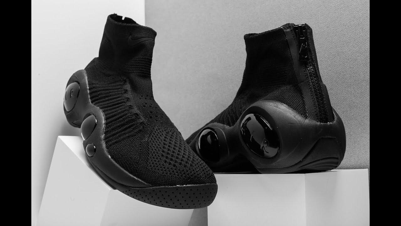 dbcf682c75bd8 Nike Flight Bonafide (Black) | On feet | Sneakeroom - YouTube