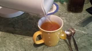 Zimt Kurkuma Chili Tee Getränk  Trink - Senkung Cholesterin Spiegel - Verbesserung Blut Immunsystem