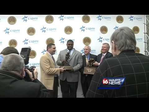2013 Conerly Award presentation
