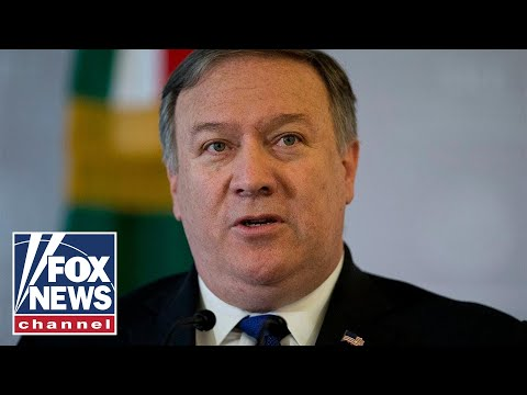 Pompeo holds State Department press briefing