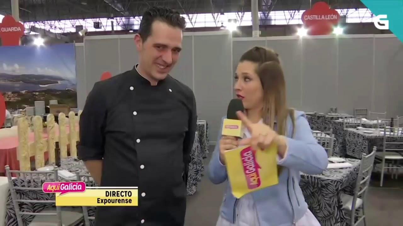 Feria Xantar 2020 - Presentación en la TVG del menú de Castilla y León.